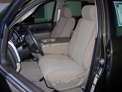 2007 - 2013 Tundra 40/20/40 with Opening Console Seat Covers