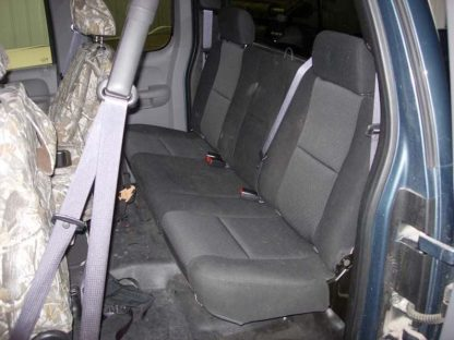 2007 - 2014 Chevy/GMC Extended Cab Rear Bench Seat Covers