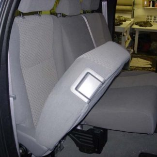 2007 - 2013 Tundra Double Cab Rear 60/40 Seat Covers