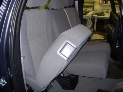 2007-2013 Tundra Double Cab Rear 60/40 Seat Covers