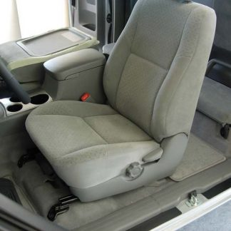 2009-2015 Tacoma Buckets with Fold Flat Passenger Backrest Seat Covers