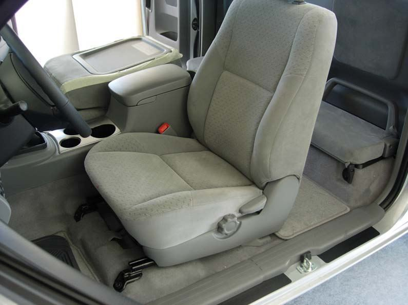 2009 2015 Tacoma Buckets With Fold Flat Passenger Backrest