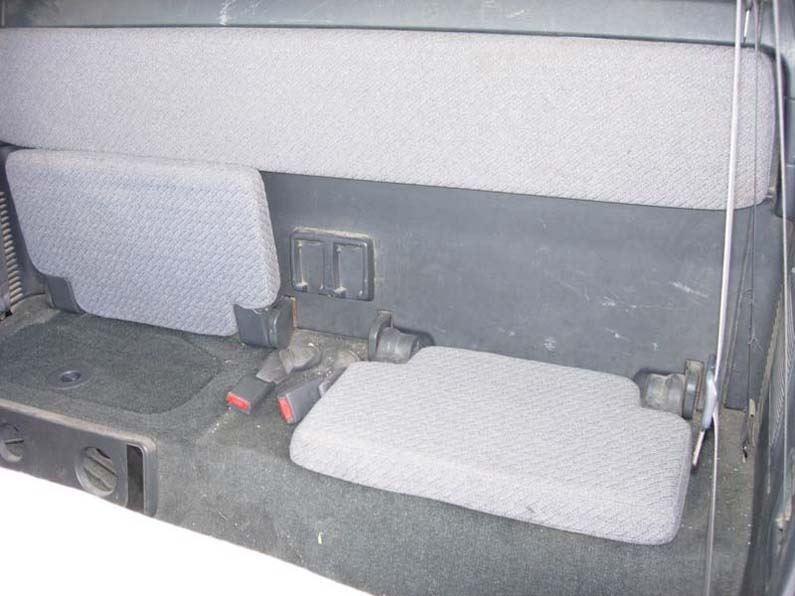 2001 2004 Tacoma Access Cab Rear 50 50 Bottom Bench Top