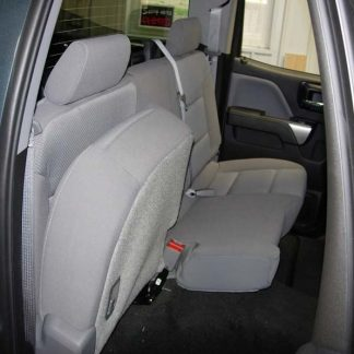 2014-2019 Chevy/GMC Double Cab Rear 60/40 Seat Covers