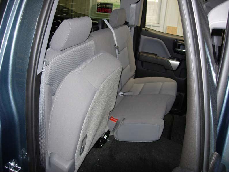 Excellent 2018 Chevy Silverado Rear Seat Covers Uwap Interior Chair Design Uwaporg