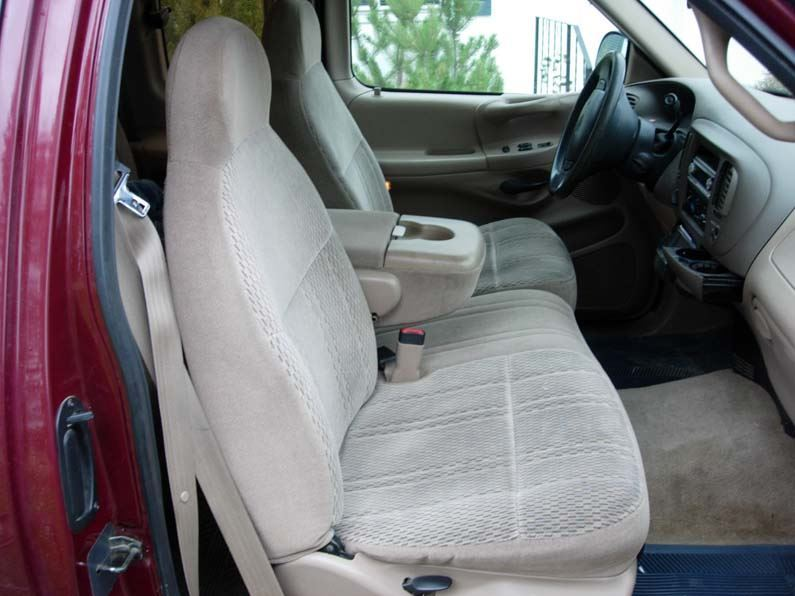 Terrific 1997 2000 Ford F 150 40 60 With One Drink Holder Seat Covers Squirreltailoven Fun Painted Chair Ideas Images Squirreltailovenorg