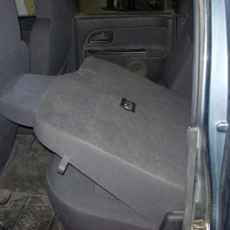 2004 - 2012 GMC Canyon Crew 60/40 Rear Seat Covers