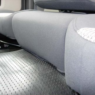 2005-2009 Dodge 40/20/40 Upholstered Flap, Opening Upper Console, Non-Opening Middle Bottom Seat Covers