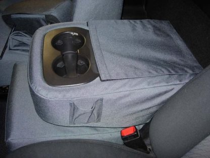 2007-2014 Chevy Tahoe 40/20/40 2 Drink Console with OUR Lid Cover Seat Covers