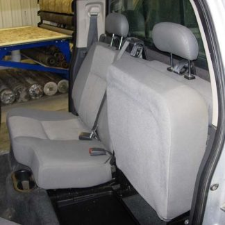 2005-2011 Dodge Dakota Crew Cab Rear 40/60 Seat Covers