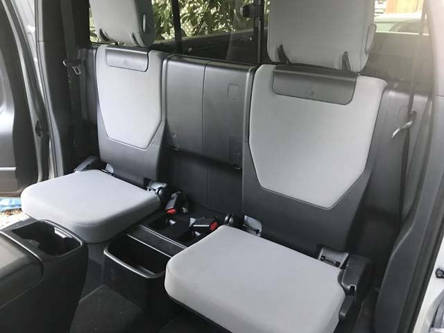 2012 2019 Tacoma Access Cab Rear Seat Covers Headwaters