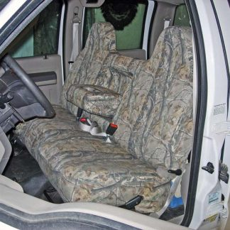 2004-2010 F-250-550 Front Solid Bench with Armrest Seat Covers