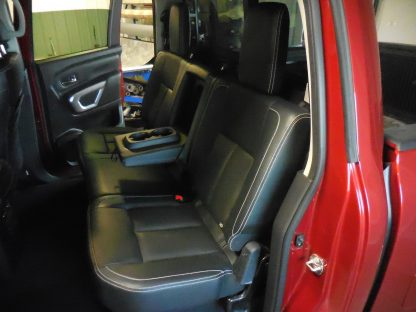 2016 - 2020 Nissan Titan 40/60 with Armrest Seat Covers