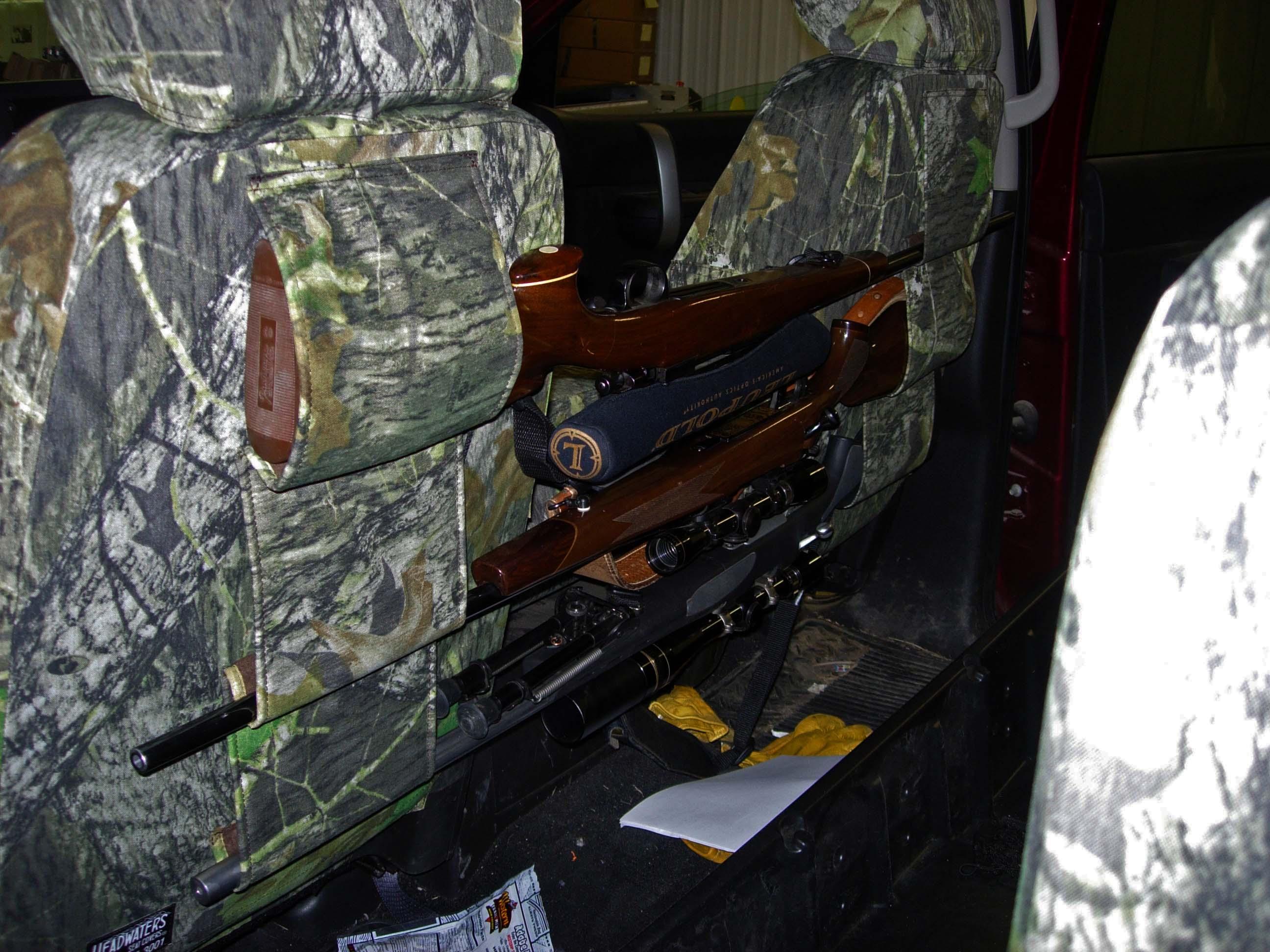 Front Triple Gun Scab