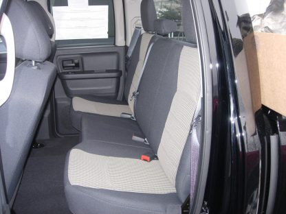 2009 - 2010 RAM Quad Rear Solid Bench Seat Covers