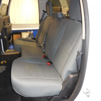 2011-2012 RAM Quad Rear Solid Bench Seat Covers