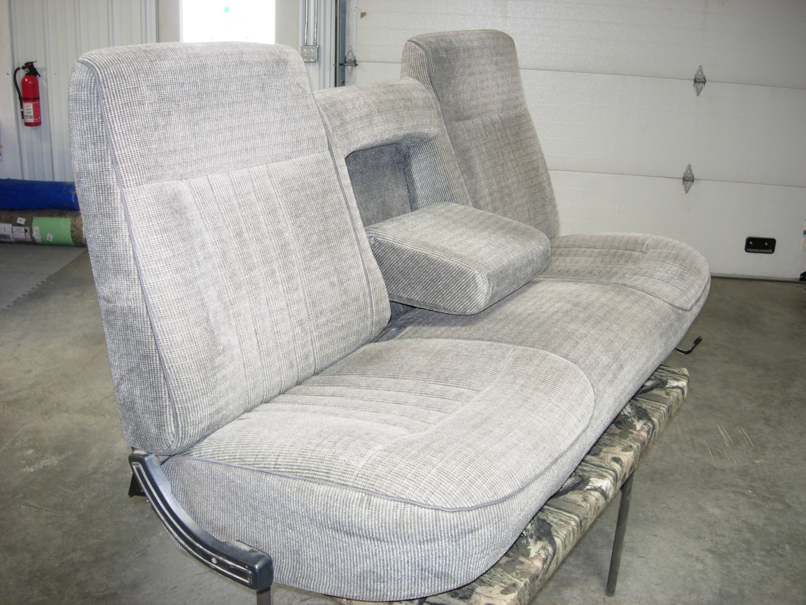 Incredible 1987 1991 Ford F 150 Regular Cab Xlt Bench Seat Covers Machost Co Dining Chair Design Ideas Machostcouk