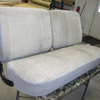 1987 - 1991 Ford F-150 50-50 Tops/Solid Bench Bottom Seat Covers