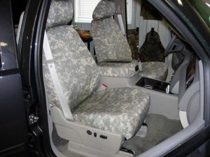 Universal Camo Headwaters Seat Covers