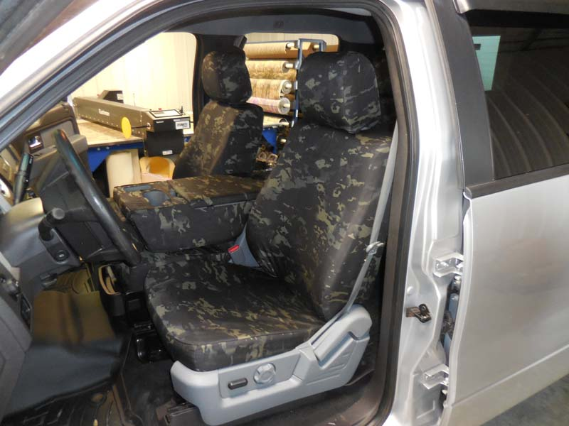 Multicam 174 Black Headwaters Seat Covers