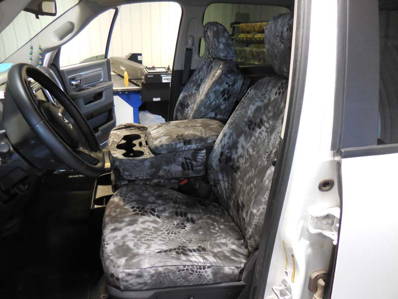 Kryptek Raid Headwaters Seat Covers