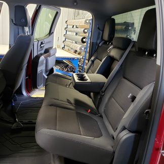 2019 - 2020 Chevy/GMC Crew Cab Rear 60/40 with Arm & Storage Seat Covers