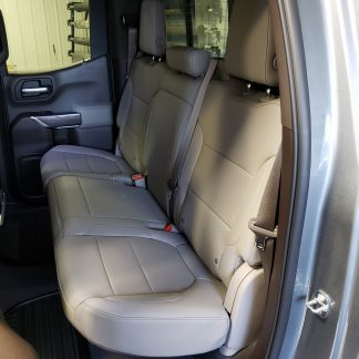 2019 - 2020 Chevy/GMC Double Cab Rear 60/40 Seat Covers