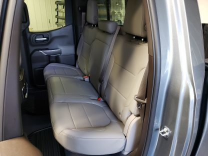 2019 - 2021 Chevy/GMC Double Cab Rear 60/40 Seat Covers