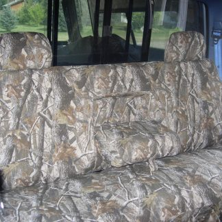 1992-1998 Ford F-150 Bench with Armrest and Adjustable Headrests Seat Covers