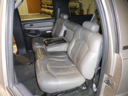 2000-2002 Chevy Tahoe Middle Row 60/40 Seat Covers