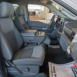 2021 Ford F-150 XLT 40/20/40 with Workspace Console Seat Covers