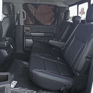 2021 Ford F-150 Super Crew Rear 60/40 with Armrest Seat Covers
